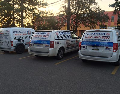 Locksmith Toronto Services Fleet