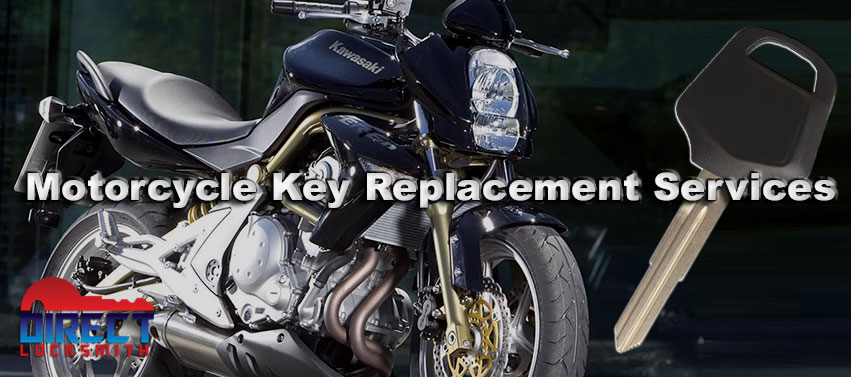 Motorcycle key replacement services